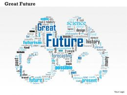 0514 Great Future PowerPoint Slide Template