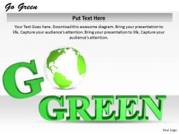 0514 Helping The World Go Green Image Graphics For Powerpoint