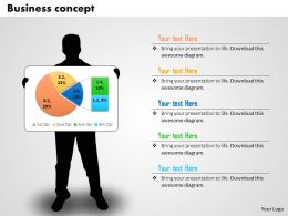 0514 Highlight Of Result Data Driven Pie Chart Powerpoint Slides