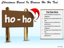 0514 Ho Ho On Christmas Image Graphics For Powerpoint
