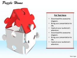 0514 Home Of Puzzle Pieces Image Graphics for PowerPoint
