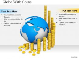 0514 Illustration Global Economic Growth Image Graphics For Powerpoint