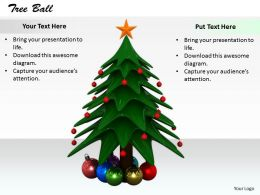 0514 Illustration Of Christmas Tree Image Graphics For Powerpoint