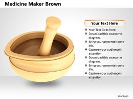 0514 Illustration Of Herbal Medicine Maker Image Graphics For Powerpoint
