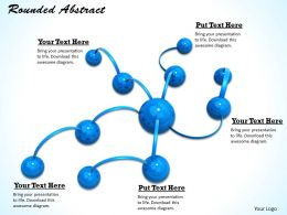 0514 Illustration Of Molecule Structure Image Graphics For Powerpoint