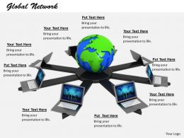 0514 Illustration Of Social Network Image Graphics For Powerpoint