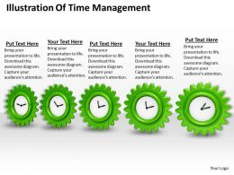 0514 Illustration Of Time Management Image Graphics For Powerpoint