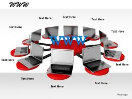 0514 Illustration Of World Wide Web Image Graphics For Powerpoint