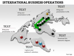 0514 International Business Operations Image Graphics For Powerpoint