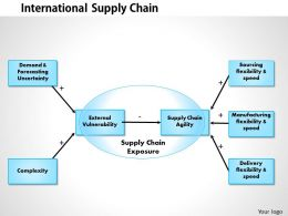 0514 International Supply Chain Powerpoint Presentation