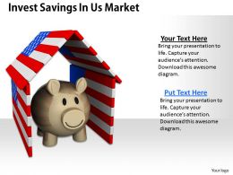 0514 invest savings in us market Image Graphics for PowerPoint