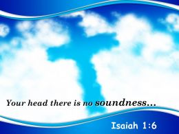0514 Isaiah 16 Your Head There Is No Soundness PowerPoint Church Sermon