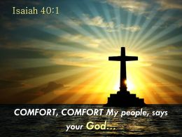 0514_isaiah_401_my_people_says_your_god_powerpoint_church_sermon_Slide01