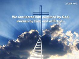0514 Isaiah 534 We Considered Him Powerpoint Church Sermon