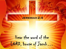 0514 Jeremiah 24 Hear The Word Of The LORD Power Powerpoint Church Sermon