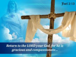 0514 Joel 213 Return To The LORD Your God Powerpoint Church Sermon