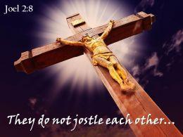 0514 Joel 28 They Do Not Jostle Power Powerpoint Church Sermon