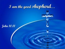 0514 John 1011 I Am The Good Shepherd Powerpoint Church Sermon