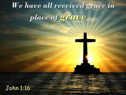 0514 John 116 Place Of Grace Already Given Powerpoint Church Sermon