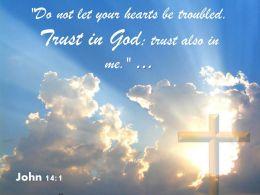 0514 John 141 Do Not Let Your Hearts Powerpoint Church Sermon