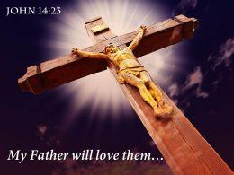 0514 John 1423 My Father Will Love Power PowerPoint Church Sermon