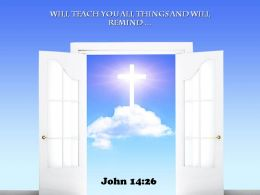 0514 John 1426 Will teach you all things Power PowerPoint Church Sermon