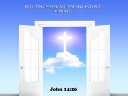 0514 John 1426 Will teach you all things Power PowerPoint Church Sermon