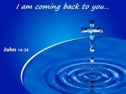 0514 John 1428 I Am Coming Back PowerPoint Church Sermon