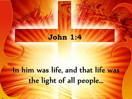 0514 John 14 The Light Of All People Powerpoint Church Sermon