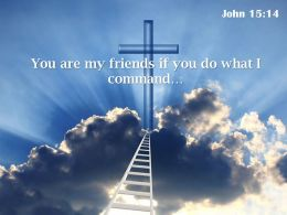 0514 John 1514 You Are My Friends If Powerpoint Church Sermon