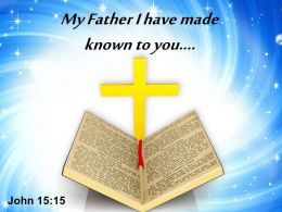 0514 John 1515 My Father I Have Made PowerPoint Church Sermon