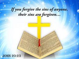 0514 John 2023 The Sins Of Anyone Power Powerpoint Church Sermon