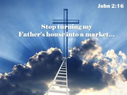0514 John 216 Stop Turning My Father Powerpoint Church Sermon