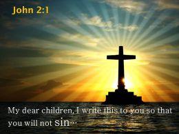0514 John 21 My Dear Children I Write This Powerpoint Church Sermon
