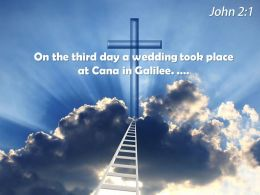 0514 John 21 On The Third Day Powerpoint Church Sermon