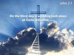 0514 John 21 On The Third Day Powerpoint Church Sermon
