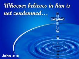 0514 John 318 Whoever Believes In Him Powerpoint Church Sermon