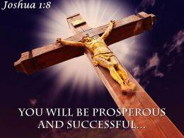 0514 Joshua 18 Keep This Book Of The Law Power Powerpoint Church Sermon