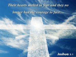 0514 Joshua 51 Their Hearts Melted In Fear Powerpoint Church Sermon