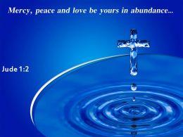 0514 Jude 12 Mercy Peace And Love PowerPoint Church Sermon
