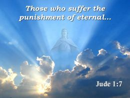 0514 Jude 17 Suffer the punishment PowerPoint Church Sermon