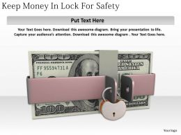 0514_keep_money_in_lock_for_safety_image_graphics_for_powerpoint_Slide01
