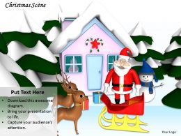 0514 Keeping Up The Christmas Theme Image Graphics For Powerpoint