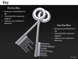 0514 Keys For Business Terms Image Graphics For Powerpoint