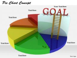 0514 Ladder To Reach Goal Image Graphics For Powerpoint