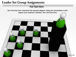 0514 Leader Set Group Assignments Image Graphics For Powerpoint