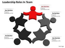 0514 Leadership Roles In Team Image Graphics For Powerpoint