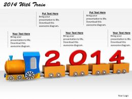 0514 Looking Forward For Year 2014 Image Graphics for PowerPoint