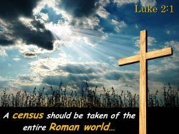 0514 Luke 21 The entire Roman world PowerPoint Church Sermon
