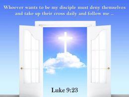 0514 Luke 923 Take Up Their Cross Daily Powerpoint Church Sermon